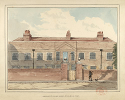 Goldsmith's Almshouses, Woolwich